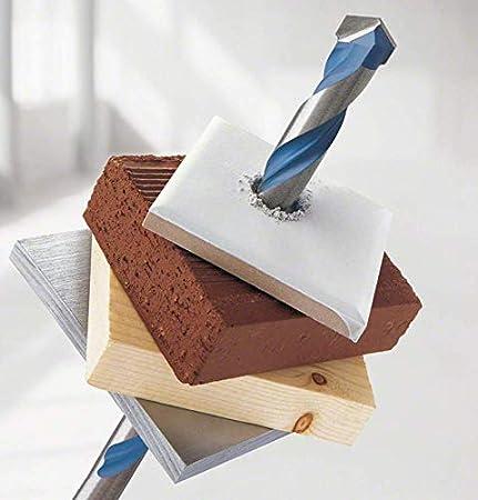 Bosch Professional - Juego de 7 brocas multiuso Robust Line CYL-9 MultiConstruction + Bosch - Juego de 5 brocas para martillos perforadores Robust Line ...
