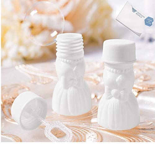 Bargain World Plastic Wedding Gown Bubbles (With Sticky Notes) by Bargain World (Image #1)