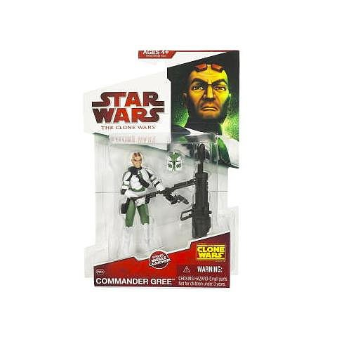 Star Wars 2009 Clone Wars Animated Action Figure Commander - Wars Wars The Clone Toys Star