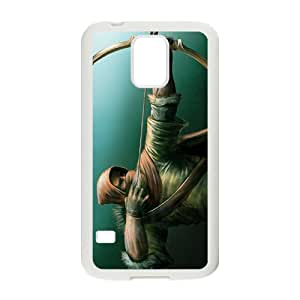 Hope-Store Green Arrow Design Personalized Fashion High Quality Phone Case For Samsung Galaxy S5