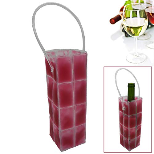 Wine Cooler Bags with Handles - Burgundy Wine Cooler