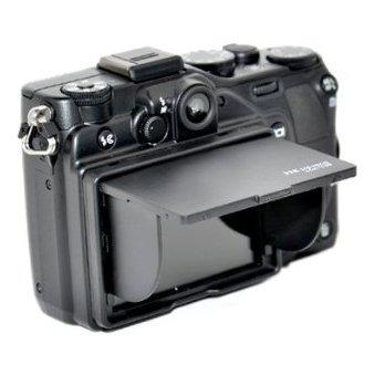 JJC LCH-3.0B 3.0 inch Universal Pop-up LCD Hood for Canon Nikon Sony Pentax Olympus Black ()