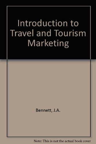 Introduction to travel and tourism marketing