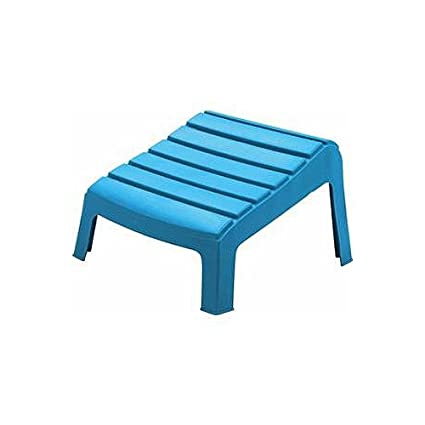 Amazing Adams 8380 21 3731 Adirondack Ottoman Pool Blue Ibusinesslaw Wood Chair Design Ideas Ibusinesslaworg