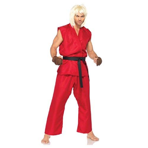 Street Fighter Ken Adult Costume -