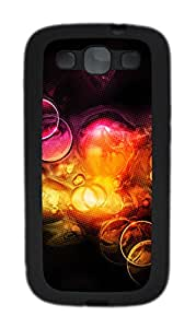 Samsung Galaxy S3 I9300 Cases & Covers - Super Colorful Background TPU Custom Soft Case Cover Protector for Samsung Galaxy S3 I9300 - Black