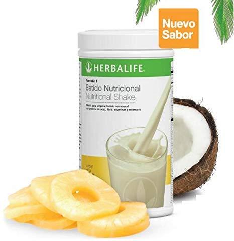 Amazon.com: Herbalife Formula 1 Healthy Meal Nutritional Shake Mix: Piña Colada 750 g: Health & Personal Care
