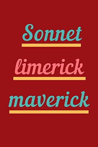 Sonnet Limerick Maverick: Blank Ruled Lined Composition Notebook Journal (Best Limericks For Kids)