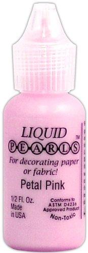 Ranger LPL-02024 Liquid Pearls Glue Paint, Petal Pink, (Pearl Petals)