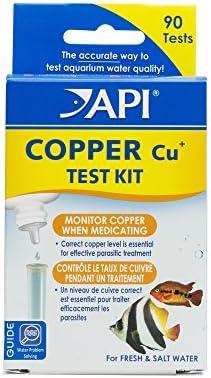 API COPPER TEST KIT 90-Test Aquarium Water Test Kit
