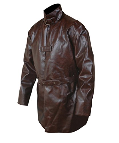 F&H Men's Watch Dogs Aiden Pearce Trench Coat 5XL Brown by Flesh & Hide (Image #3)