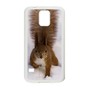 Squirrel and Snow Hight Quality Plastic Case for Samsung Galaxy S5