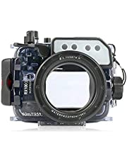 Seafrog Waterproof Housing Case Diving 60m/195ft Universal Works for Sony RX100 I II III IV V Cameras