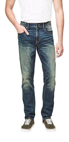 Aeropostale Men's Super Skinny Dirty Indigo Dark Wash Reflex Jean 30 Dark (Aeropostale Skinny Jeans)