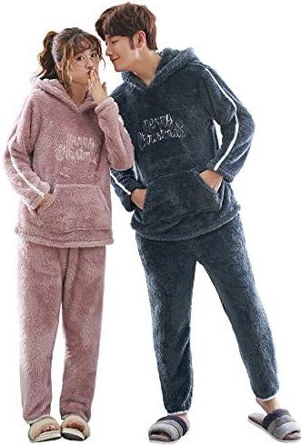 可愛い ペアパジャマ ルームウェア カップル パジャマ レディース ナイトウェア メンズ フランネル パジャマ フード付きルームウェア 上下セット お揃い 恋人 ご夫婦 彼女 誕生日 ギフト プレゼント