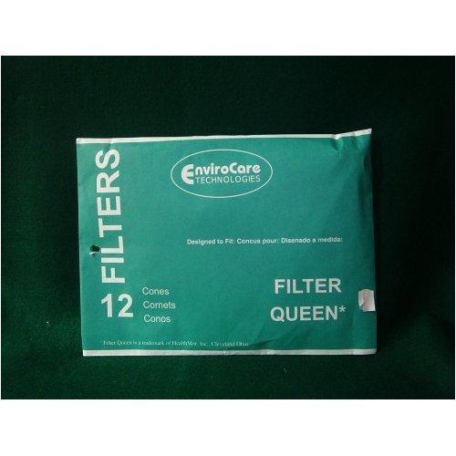 EnviroCare Replacement Vacuum Filter Cones for Filter Queen Vacuums 48 Cones ()