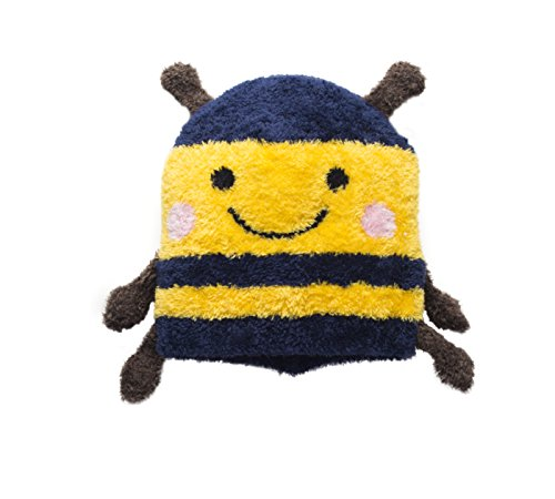 Bumble Bee Hat for Kids and Toddlers Outdoor Cap for Fun Ski Play Unisex (Bumble Cap Bee Toddler)