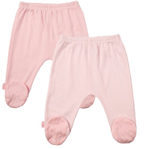 Kushies Everyday Layette 2 Pack Footed Pant
