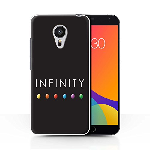 STUFF4 Phone Case / Cover for Meizu MX5 / Power Gem Stones Design / Infinity War Inspired Collection