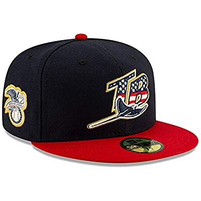 New Era Men's Tampa Bay Rays 2019 Stars & Stripes 4th of July On-Field 59FIFTY Fitted Hat