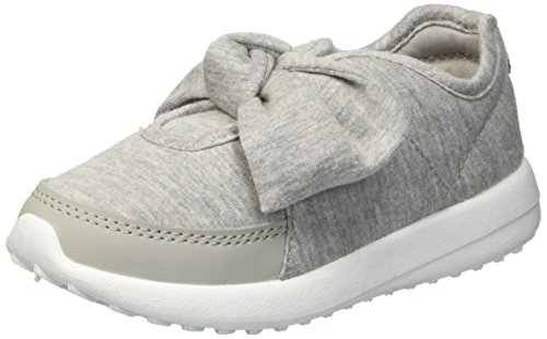 Carter's Girls' Barb2 Casual Sneaker, Grey, 8 M US Toddler