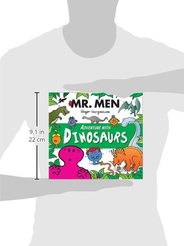 3954aff9 Mr. Men Adventure with Dinosaurs Mr. Men and Little Miss Adventures: Amazon. co.uk: Adam Hargreaves, Roger Hargreaves: Books