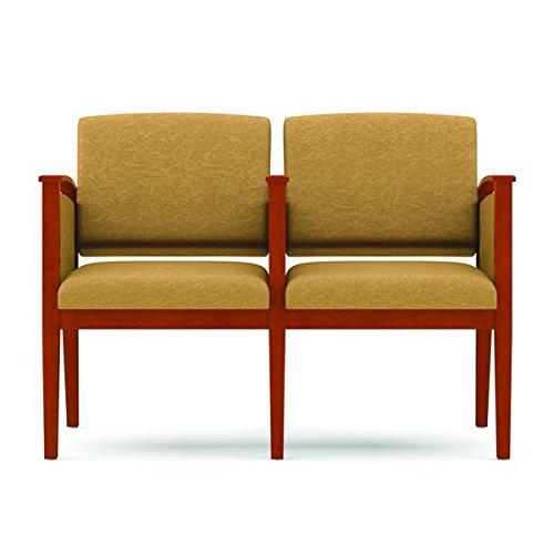 lesro k2433g6 Amherst 2 asiento Sofá con mesa centro de brazos y ...