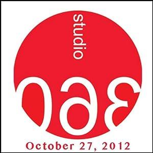 Studio 360: Art Heist & Martin McDonagh Radio/TV Program