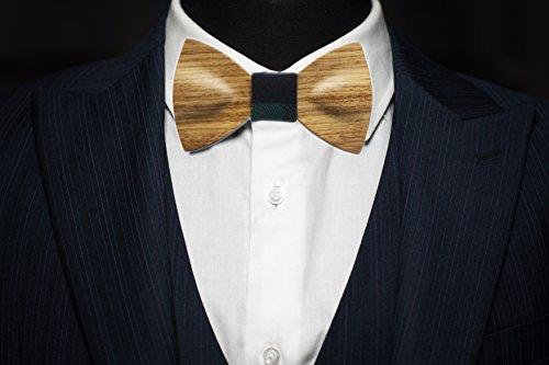 Men Bow Ties YFWOOD Unique Pre Tied Bowtie Vintage Wood Necktie Wedding Party BowtieMen Bow Ties Pre Tied Wooden Bowtie Vintage Wood Necktie Wedding Party Necktie by THAITOO (Image #2)