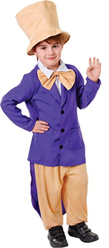 Large Boy's Chocolate Factory Boss (Chocolate Costume For Kids)