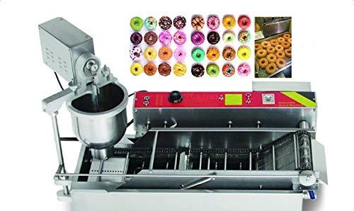 Zinnor Commercial Electric Automatic Doughnut Donut Machine Donut Maker 7L automatic temperature 3 size