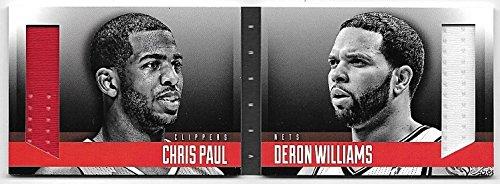 (13/14 Preferred 1 On 1#6 Chris Paul & Deron Williams Dual Jersey Book #097/199)