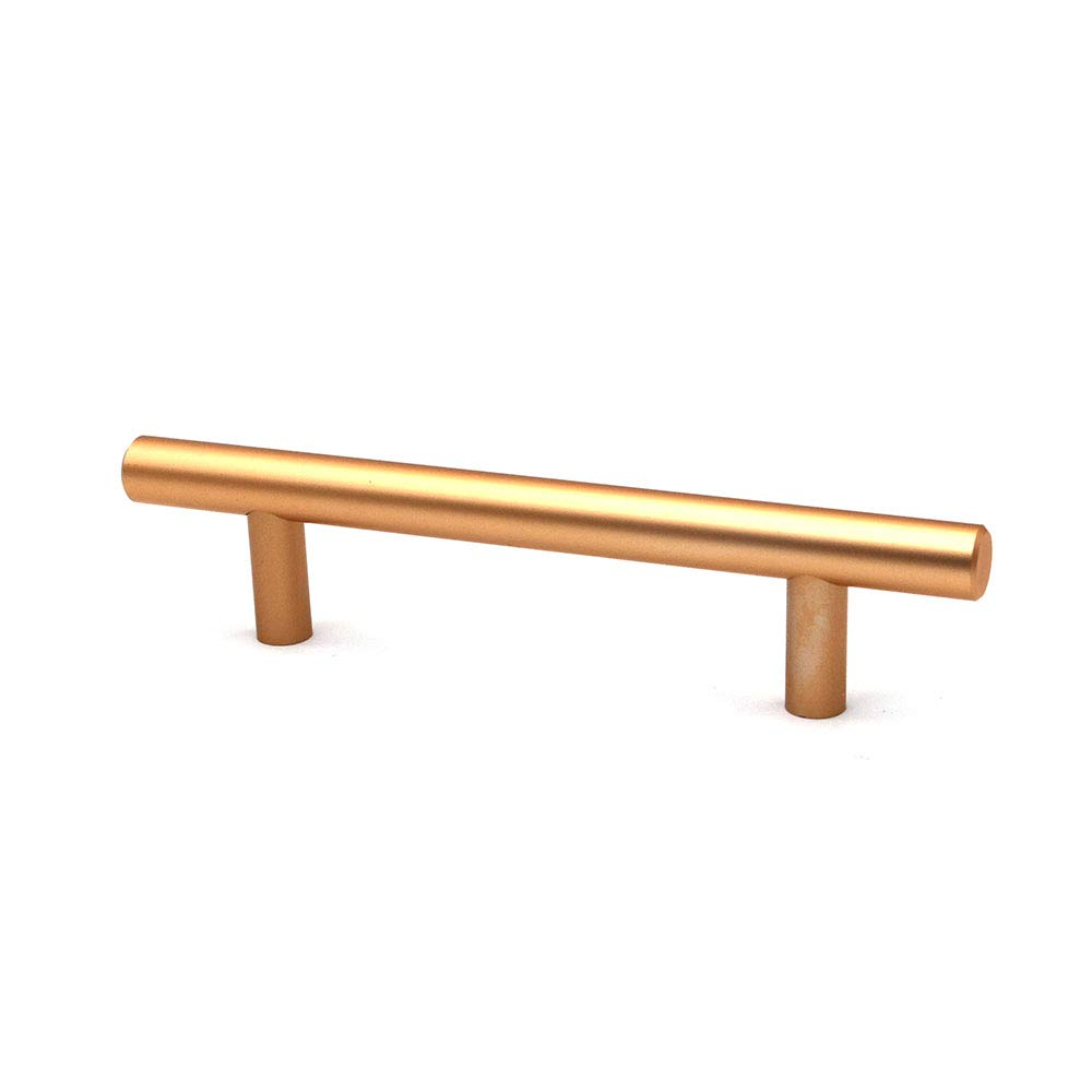 96 mm de centro a centro NUZAMAS barra para armario de cocina aleaci/ón de zinc color dorado Juego de 10 tiradores y tiradores en T para puerta de gabinete de muebles y cajones 150 mm de largo
