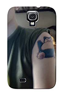 For Galaxy S4 Protector Case Tag Anime Cartoon Pokemon Norlax Phone Cover