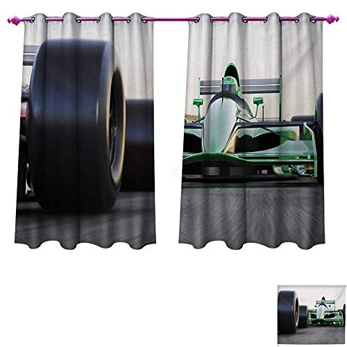 Used, Davishouse Cars Blackout Window Curtain Sports Theme for sale  Delivered anywhere in USA