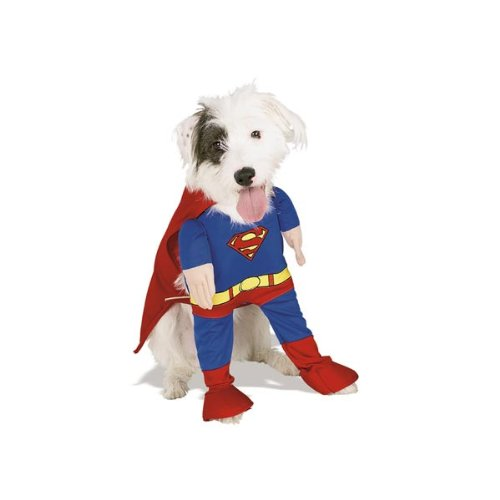 Superman Costumes Variations (Rubie's 50570-S Superman Dog Costume - Small)