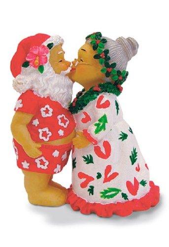 Island Heritage Kissing Santa Ornament - Island Santa