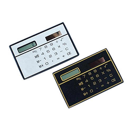 2Pc Durable Mini Solar Portable Scientific Calculator School Office Student by Yeefant
