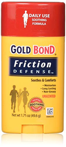 Gold Bond Chafing Defense Anti-Friction Formula, Unscented 1.75 oz (49.6 g)(Pack of 1) (Best Way To Stop Chafing Between Thighs)
