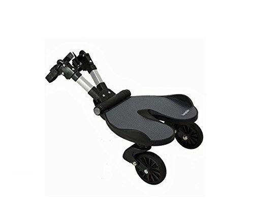 Bumprider 12-01-015 Mitfahrbrett für Kinderwagen, schwarz