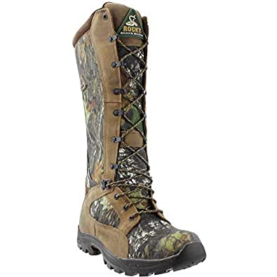 "Rocky Men's 16"" Prolight Waterproof Snake Boots, Mossy Oak Break-Up, 8D (Medium)"