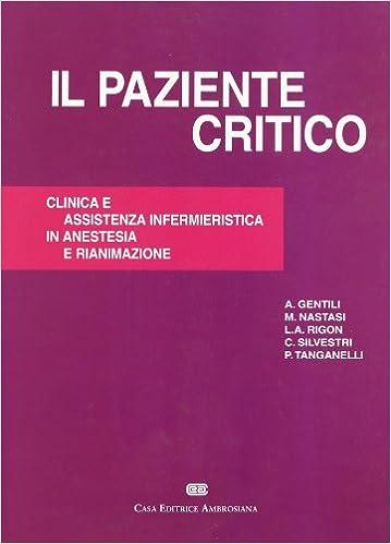 IL PAZIENTE CRITICO EBOOK