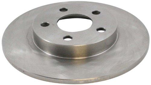 (DuraGo BR55051 Rear Solid Disc Brake Rotor)