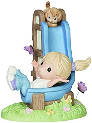 Precious Moments 2015 Collector S Club Ig Kit J Girl And Puppy On Slide Figurine Amazon Sg Home
