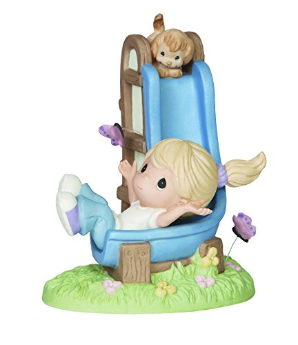 (Precious Moments 2015 Collector's Club IG Kit J Girl and Puppy on Slide Figurine)