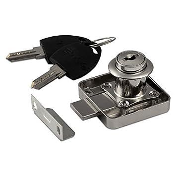 SO-TECH® 1 x Serratura per Mobili 138 Serratura a Cilindro Serratura per Cassetto ciascuno con 2 Chiavi SOTECH