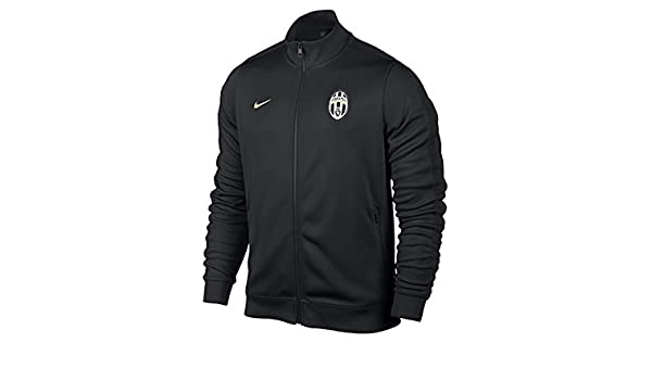 Chaqueta Juventus Authentic N98 -Negro-: Amazon.es: Deportes ...