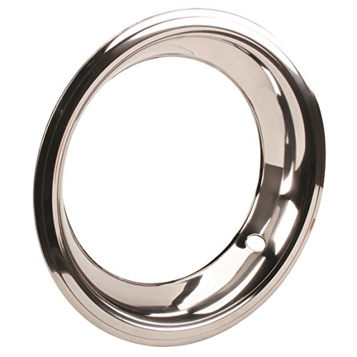Stainless Steel Trim Ring for 15 Inch GM Rally Wheel, 3 Inch Wide
