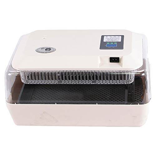 TAIMIKO Egg Incubator Automatic Egg Incubator 24 Eggs Poultry Hatcher Auto Temperature Control Easy to Observe for Chickens Ducks Goose Birds Family Use