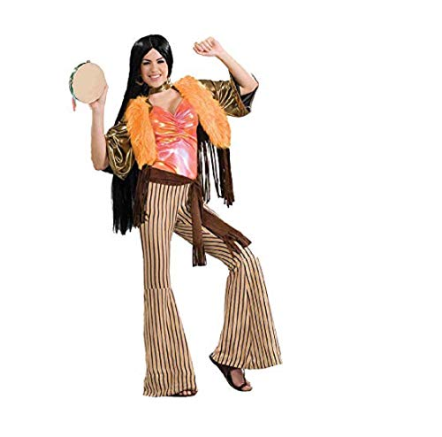 Forum 60's Revolution Groovy Gal Costume, Multi, One Size -